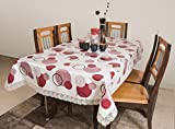 #10: Azalea Dynasty 4 Seater PVC Table Cover , Red , Pack of 1