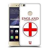 Head Case Designs Grossbritannische Fahne Fahnen Flicken Ruckseite Hülle für Huawei P8 Lite (2017)