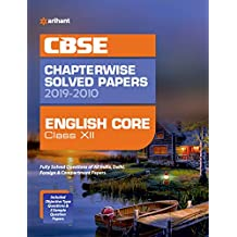 CBSE English Core Chapterwise Solved Papers Class 12 2019-10