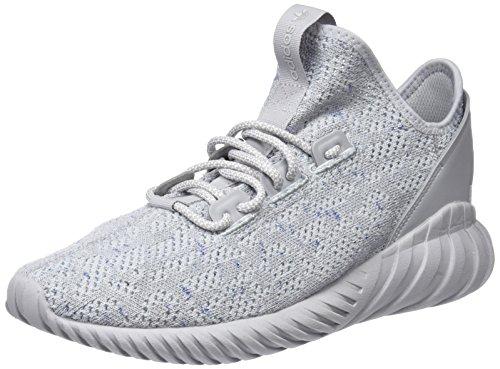 adidas Herren Tubular Doom Sock Primeknit Gymnastikschuhe Grau (Grey Two F17/ftwr White/hi-res Blue S18)