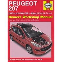 Peugeot 207 Petrol and Diesel Service and Repair Manual: 2006 to 2009 (Service & repair manuals)