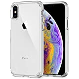 Spigen Ultra Hybrid (Version 2) Case Designed for iPhone Xs (2018) / iPhone X (2017) - Crystal Clear 063CS25115