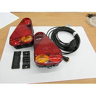 AVB Paket RL Aspöck Earpoint 3 li & re m. Kabel 13 pol 6m m.Abgang #822 & Clipse