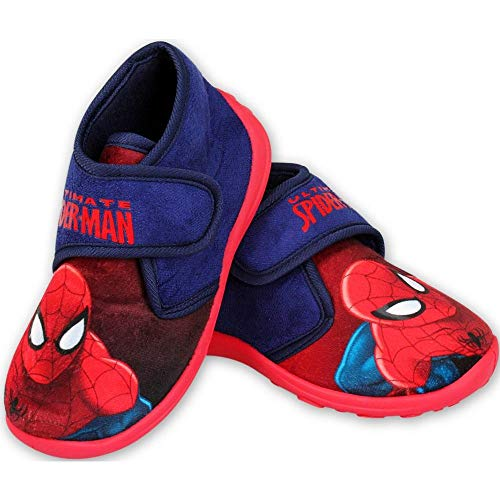 Spiderman Slippers Blue/Red
