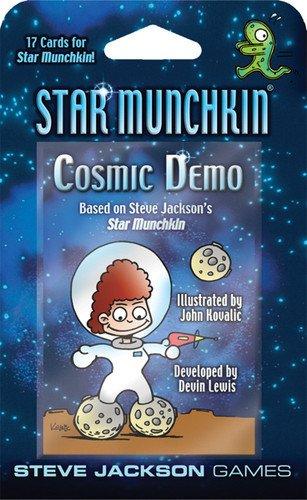 Steve Jackson Games SJG04252 - Kartenspiele, Star Munchkin Cosmic Demo Retail Blister Pack