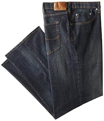 Lee Men's Big-Tall Modern Series Custom-Fit Relaxed Straight-Leg Jean