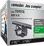 Rameder Attelage rotule démontable pour Toyota RAV 4 II + Faisceau 13 Broches...