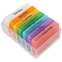 Sun Flower Weekly Tablet Pille Boxen Aufbewahrung Medizin Behälter Fall preisvergleich bei billige-tabletten.eu