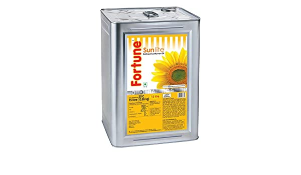 Fortune Sunflower 15 LTR Tin: Amazon in: Grocery & Gourmet Foods