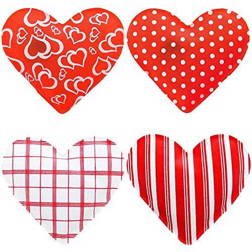 Out of the blue set di scaldamani a forma di cuore composto da 4 pezzi, per proteggere le mani dal freddo in inverno