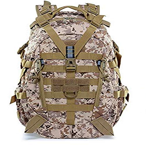 TnXan Large camping backpack military men's travel bag tactical mountaineering backpack Tactical Assault Backpack survival bag army backpack hiking bag outdoor bag military personnel