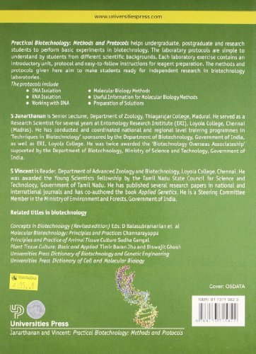 Practical Biotechnology: Methods & Protocols