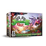 Cranio Creations- Jungle Race-Gioco da Tavolo, Multicolore, CC113