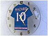 CHELSEA FC FOOTBALL CLUB WALL CLOCK - ANY NAME & NUMBER, YOU CHOOSE - BRAND NEW ACRYLIC SHIRT DESIGN