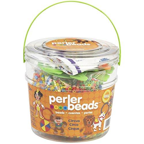 Perler Kunststoff Fun Fusion Fuse Bead Bucket-Circus