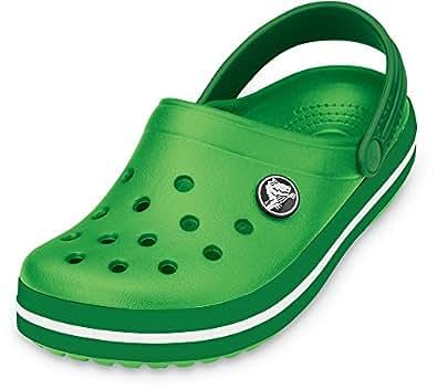 CROCS Schuhe - Clogs CROCBAND KIDS - lime kelly green, Größe:21-22