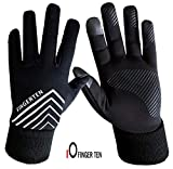 Running Gloves for Men Ladies Touchscreen Fleece...