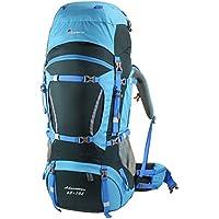 Mountaintop 65+10 Litri Zaino Trekking Impermeabile Escursionismo montagna campeggio alpinismo viaggio 78 x 36 x23CM