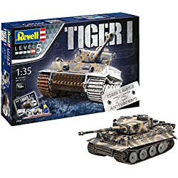 Revell- I Maqueta Set de Regalo 75 años Tiger Tanque, Kit Modello, Escala 1:35 (5790) (05790), 24,10 cm de Largo (