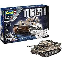 Revell 05790–Maqueta de Tanque 1: 35–Set de Regalo 75años Tiger I en Escala 1: Niveles 35, 5, orgin Algas fidelidad imitación con Muchos Detalles de