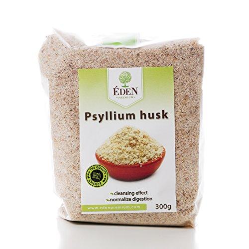 Bio Flohsamenschalen aus Indien 2 x 300 g Doppelpack | ballaststoffreicher Ersatz für Gelatine | Paleo Low-Carb Glutenfrei Vegan Superfood | 100% Bio und Natur Flohsamen