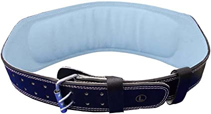 USI WT LIFTING 6 PADDED BELT