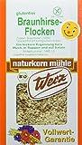 WERZ Braunhirse-Flocken, 3er Pack (3 x 250 g)