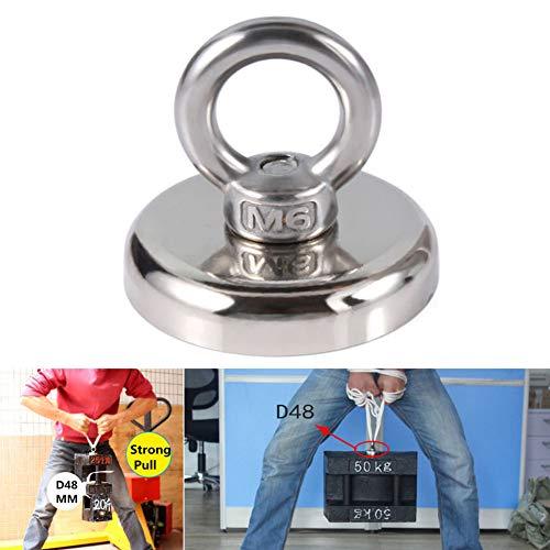 Dandeliondeme 32/36/48/60 mm Recovery Magnet Haken Starker Angeln Tauchen Schatz Jagd Ring für Küche Badezimmer Wand Schrank