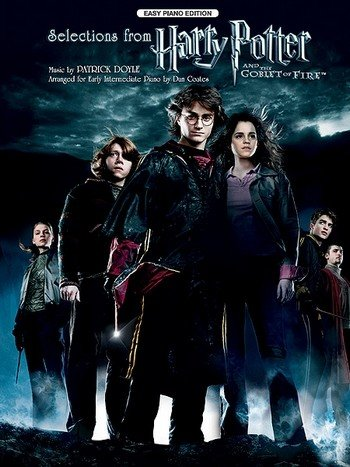 Harry Potter and the goblet of fire: for easy piano (Potter Harry Easy Piano-musik,)