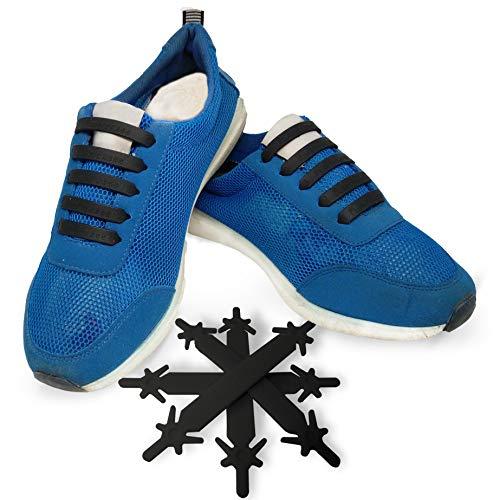 e98eb625946 FunFitness Cordones Elasticos Gomas ☆ Cordón Elasticas Zapatillas de  Silicona para Halar y Bloquear Fácilmente ☆