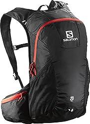 Salomon Trailrunning-rucksack (20l), 48 X 24 X 15 Cm, Trail 20, Schwarzrot, L37998100