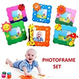 SillyMe Cute Wooden Photo Frame for Children Birthday Party Return Gift