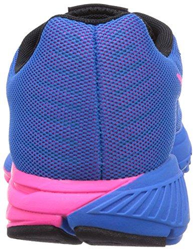 Nike Zoom Structure+ 17, Chaussures de running femme Bleu (Photo Blue/Black-Hyper Pink)