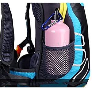 Theoutlettablet® Mochila impermeable bici para Ciclismo Bicicleta Bolsa Hidratacion Agua (2L) Mochila capacidad 15 Litros montaña - Senderismo - Btt - MTB - Tipo Camelbak