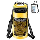 ALEENUN Dry Bag, Wasserdicht Taschen,Wasserdichter Packsack mit Handy Dry Tasche und Lang...