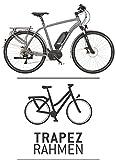 Kettler Traveller E Light E-Bike Damen Citybike 13,8 Ah frosted steel matt 2016