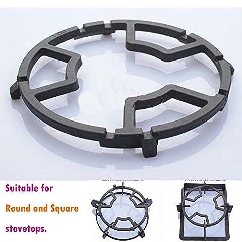 TAMUME Universal Black Cast Iron Stove Trivets
