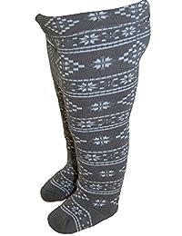 EBI& EBI - Strumpfhose Winter Jungen gemustert, Grau