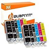 Bubprint 12 Druckerpatronen kompatibel für Canon PGI 550 XL 550XL BK CLI 551 551XL für Pixma IP8750 MG6350 MG7150 MG7550 IP8700 Series Multipack