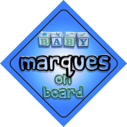 Bébé Garçon marques de voiture fantaisie on Board Sign Cadeau/cadeau pour nouveau/enfant nouveau-né