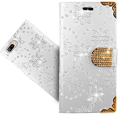 Doogee X20L / X20 Handy Tasche, FoneExpert Wallet Case Cover Bling Diamond Hüllen Etui Hülle Ledertasche Lederhülle Schutzhülle Für Doogee X20L / X20