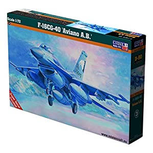 MisterCraft mcd901: 72Escala F-16Bloque 40Aviano AB Modelo Kit