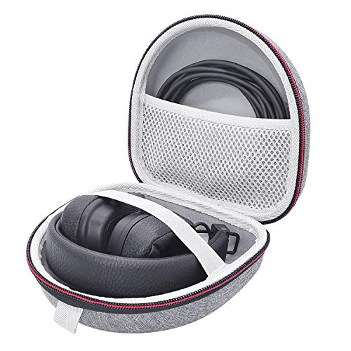 Étui Housse pour Marshall Major III/II, Mid, Monitor Headphones Casque, Coque Rigide Sac de Transport