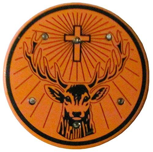 Preisvergleich Produktbild Jägermeister - Blinkie - Anstecker mit rotierendem Licht - 45 mm
