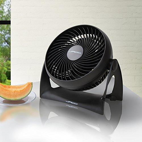 Ventilator Air (Turbo-Ventilator Air-Conditioner Lufterfrischer Tischventilator inkl. Schraubenset zur Wandmontage)