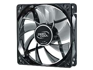 Deepcool Iceblade 120 mm Transparent Cooling Fan with Blue LED (Black) (PC)