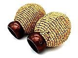 Swish Endstücke für 28 mm Gardinenstange, Korkkkegel, Dunkles Kupfer, 1 Paar