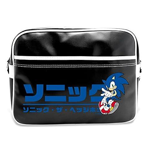 Sonic The Hedgehog Japanese Logo Messenger Bag