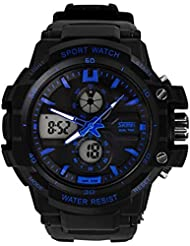 Upto 85% Off On Skmei Chronograph Analogue Digital Sport Men's Watches low price image 8