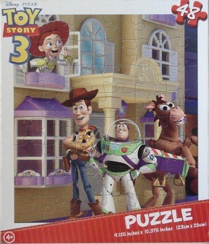 Toy Story 3 48 Piece Puzzle - Buzz, Woody, Jessie, Bullseye by ID (Buzz Jessie Bullseye Woody)